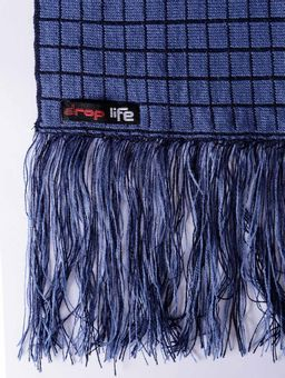 Cachecol-Xadrez-Masculino-Azul-Marinho