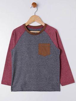 Camiseta-Manga-Longa-Infantil-Para-Menino---Cinza-vermelho-6