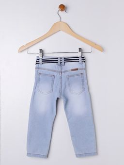 Calca-Jeans-com-Cinto-Infantil-para-Menino---Azul