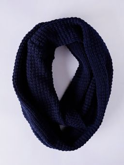 Cachecol-Feminino-Azul-Marinho