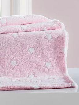 Manta-Corttex-Infantil-Para-Bebe---Rosa
