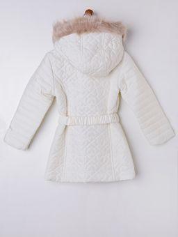 Jaqueta-Infantil-para-Menina-com-Capuz---Off-White