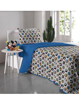Edredom-Solteiro-Disney-Azul