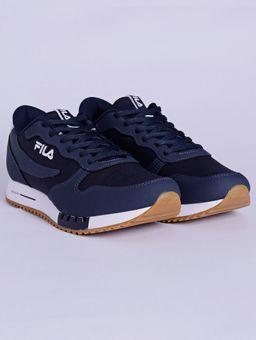 Tenis-Casual-Masculino-Fila-Euro-Sport-Azul-Marinho-branco-38