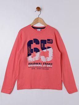 Camiseta-Manga-Longa-Juvenil-para-Menino---Salmao