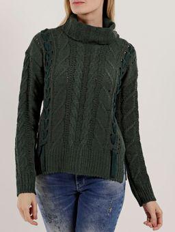 Blusao-Tricot-Feminino-Verde