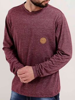 Camiseta-Manga-Longa-Masculina-Vels-Bordo-P