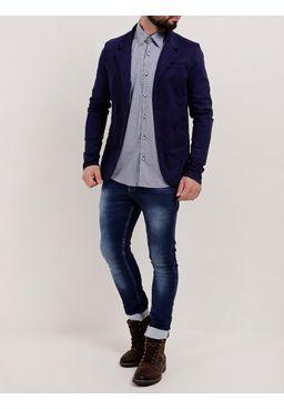 Camisa-Manga-Longa-Masculina-Azul-Marinho-P
