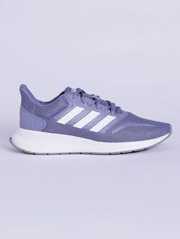 Tenis-Esportivo-Feminino-Adidas-Runfalcon-Roxo-branco