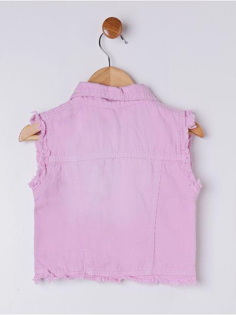 Colete-Sarja-Infantil-Para-Menina---Rosa-1
