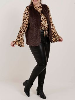 Blusa-Animal-Print-Plus-Size-Feminina-Autentique-Bege-onca-G2