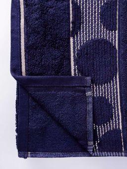 Toalha-Rosto-Azul-Marinho