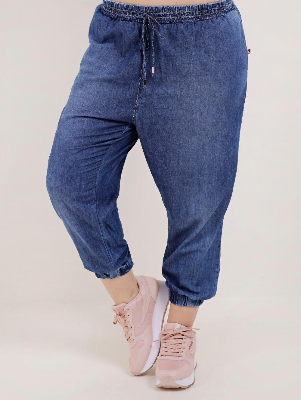 22a22ee62d1a00 Calça Jeans Plus Size Feminina Cambos Azul - Lojas Pompeia