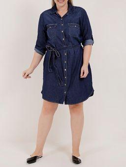 -Vestido-Chemise-Jeans-Plus-Size-Feminino-Azul-EXG