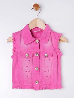 Colete-Sarja-Infantil-Para-Menina---Rosa-Pink-1