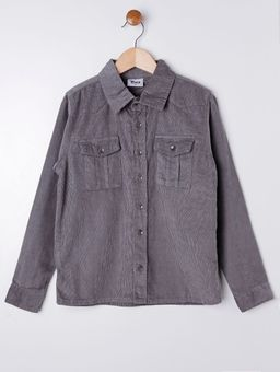 Camisa-Manga-Longa-Juvenil-Para-Menino---Cinza-10
