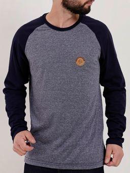 Camiseta-Raglan-Manga-Longa-Masculina-Vels-Azul-Marinho-P