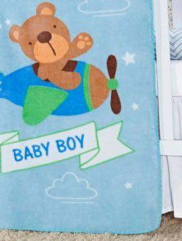 Cobertor-Infantil-Para-Bebe---Azul