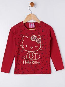 Blusa-Manga-Longa-Hello-Kitty-Infantil-para-Menina---Vermelho