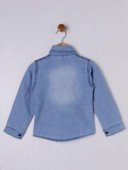 Camisa-Jeans-Manga-Longa-Infantil-Para-Menina---Azul-6