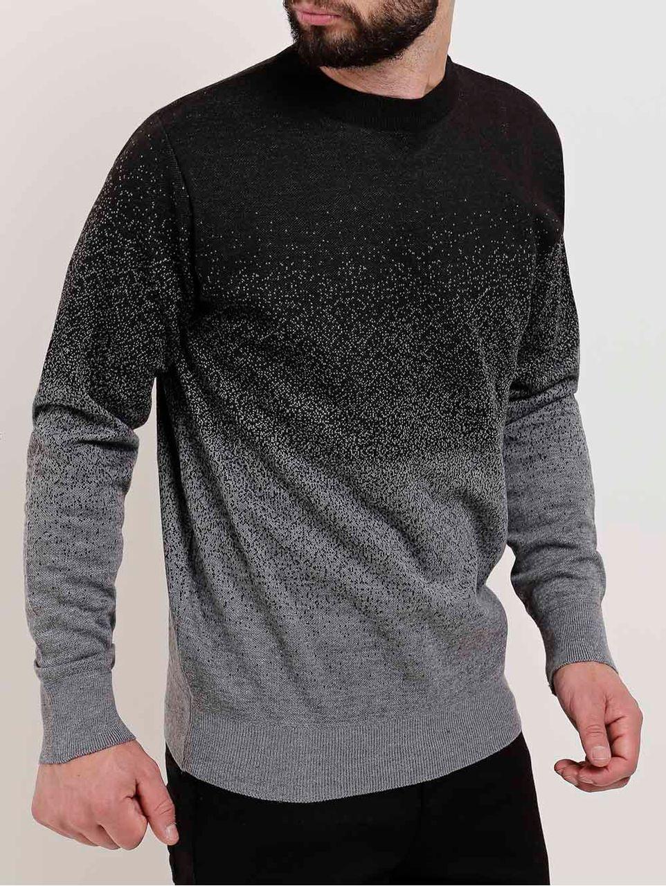 Blusão Masculino Preto/cinza