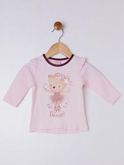 Conjunto-Infantil-Para-Bebe-Menina---Rosa-vinho-P