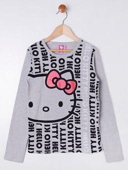 Blusa-Manga-Longa-Hello-Kitty-Juvenil-Para-Menina---Cinza-10