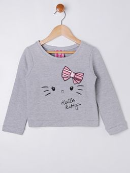 Conjunto-Hello-Kitty-Infantil-Para-Menina---Cinza-rosa-6