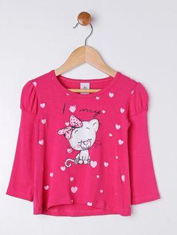 Blusa-Manga-Longa-Infantil-Para-Menina---Rosa-Pink-1