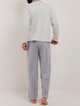 Pijama-Longo-Masculino-Verde-cinza-P