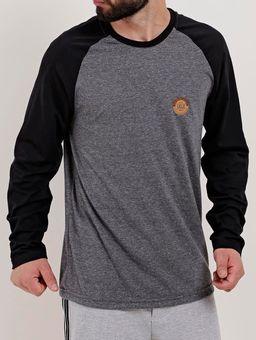 Camiseta-Raglan-Manga-Longa-Masculina-Vels-Cinza-P