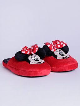 Pantufa-Minnie-Mouse-Disney-Feminina-Vermelho-38-39