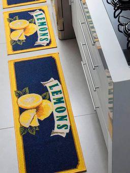 Jogo-de-Tapetes-para-Cozinha-Corttex-Azul-Marinho-amarelo