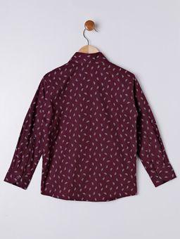 Camisa-Manga-Longa-Infantil-Para-Menino---Bordo-6