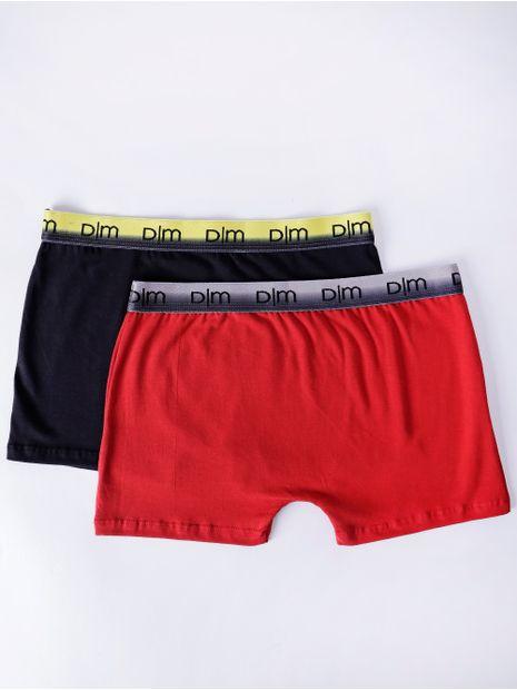 Kit-com-02-Cuecas-Masculinas-Boxer-Vermelho-preto-P