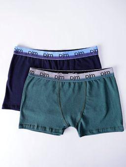 Kit-com-02-Cuecas-Masculinas-Boxer-Azul-Marinho-verde-P