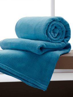 Manta-Casal-Corttex-Microfibra-Azul