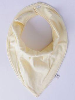 Babador-Bandana-Infantil-Amarelo