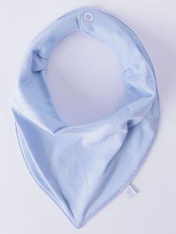 Babador-Bandana-Infantil-Azul