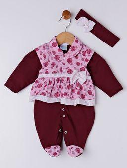 Enxoval-Infantil-Para-Bebe-Menina---Bordo-P