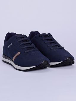 Tenis-Casual-Masculino-Azul-Marinho-38