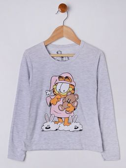 Pijama-Longo-Garfield-Infantil-Para-Menina---Cinza-salmao-6