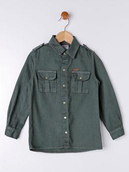 Camisa-Sarja-Manga-Longa-Infantil-Para-Menino---Verde-6