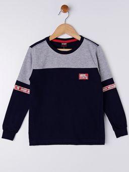 Camiseta-Manga-Longa-Gangster-Infantil-Para-Menino---Azul-Marinho-6