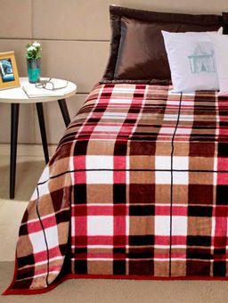 Cobertor-Casal-Vinho