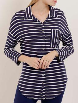 Z-\Ecommerce\ECOMM\FINALIZADAS\Feminino\120145-camisa-mga-3-4-adulto-la-gata-marinho