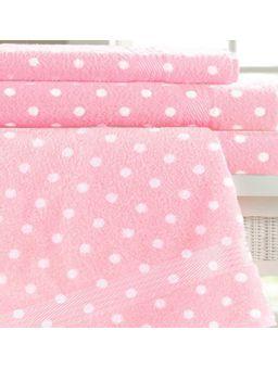 Toalha-de-Banho-Dohler-Prisma-Rosa-branco