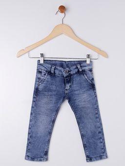 Calca-Jeans-Moletom-Infantil-Para-Menino---Azul-1