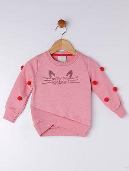 Conjunto-Infantil-Para-Bebe-Menina---Rosa-vermelho-P