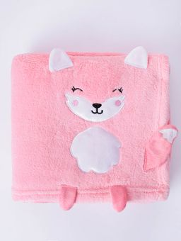 121889-manta-bebe-lepper-fleece-rosa-gato